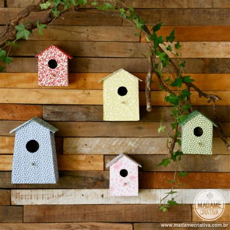 handmade bird house for wall decoration home designing