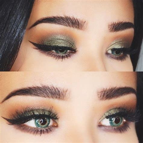 best eye makeup for green eye makeup for green makeup looks for green