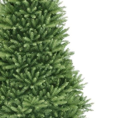 7 5 ft unlit dunhill fir artificial tree duh3 75 the home depot