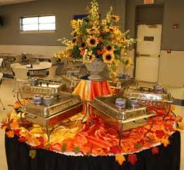 Buffet Table Arrangement Ideas Decorateyourtable Fall Autumn Tables Decorating