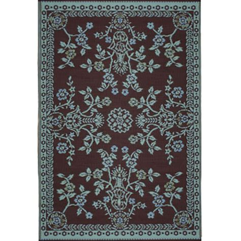 mad mats rugs mad mats garland teal brown 6x9 sku fm oga69 tb recycled mat outdoor rugs
