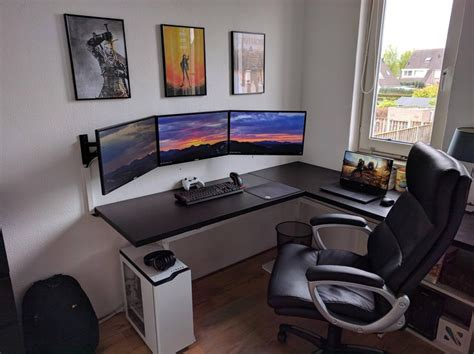 desk gaming setup the 25 best gaming setup ideas on pc gaming