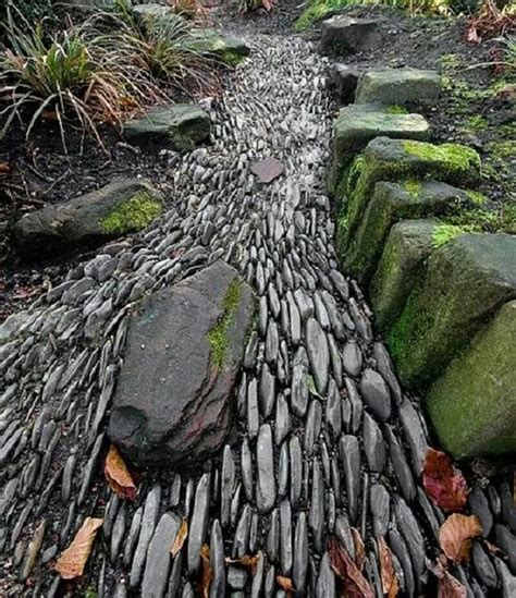 diy dry creek bed ideas bless  weeds