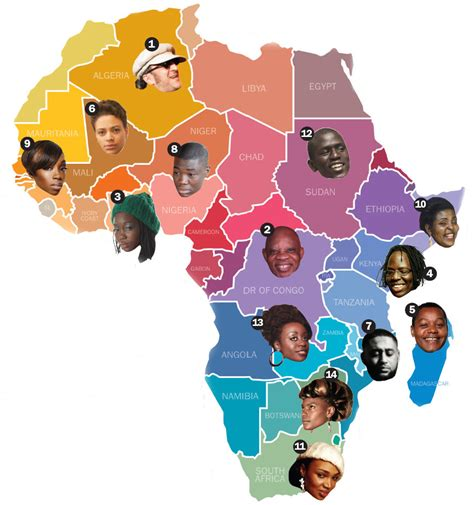 africa map song africa map with country names
