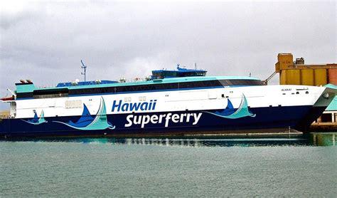 Do You Believe In Ferries by Interisland Transport Hawaii Should Believe In Ferries