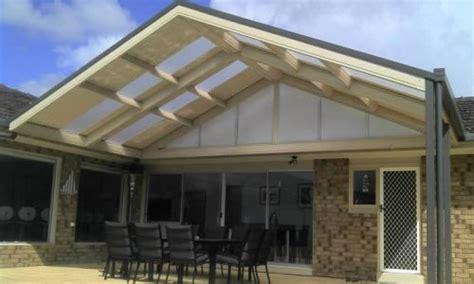 Gable Roof Verandah, Carport, Pergola and Patio