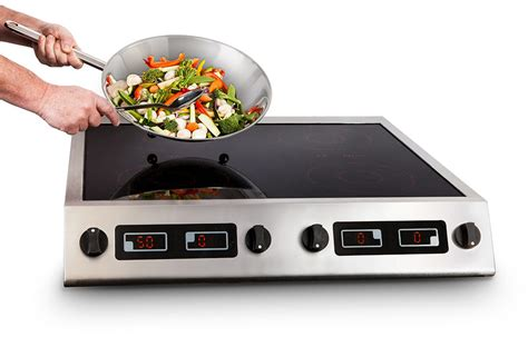 induction hobs 3kw cs3000qt 4 x 3kw four zone table top induction hob induced energy