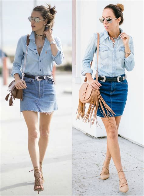 2016 denim skirt dress ala