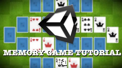 unity3d game tutorial unity3d tutorial how to make a memory game 1 youtube