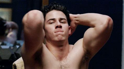 newstar model robbie bath gif nick jonas honored to play his second gay character on