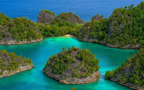 islands  indonesia hd wallpaper background image