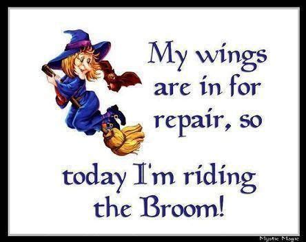 riding  broom quotes witch halloween quotes halloweem quote humor pinterest