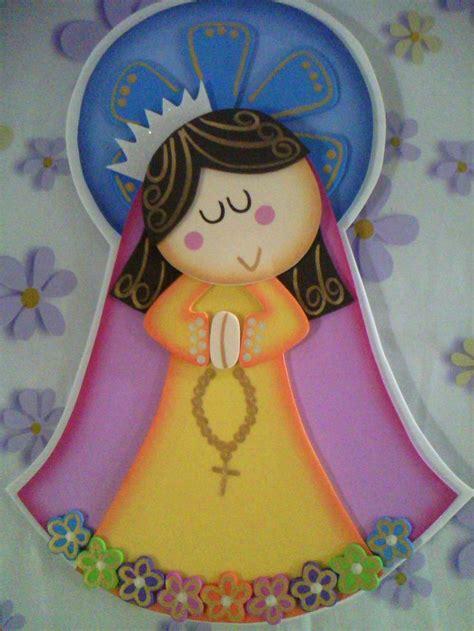 imagen virgen maria en foamy virgencita plis manualidades en foami fomy goma eva i