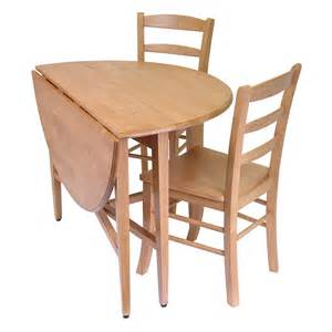 Drop Leaf Kitchen Table Sets Light Oak Finish Dining Set 42 Inch Drop Leaf Table 2 Leaves Tapered Legs Ebay