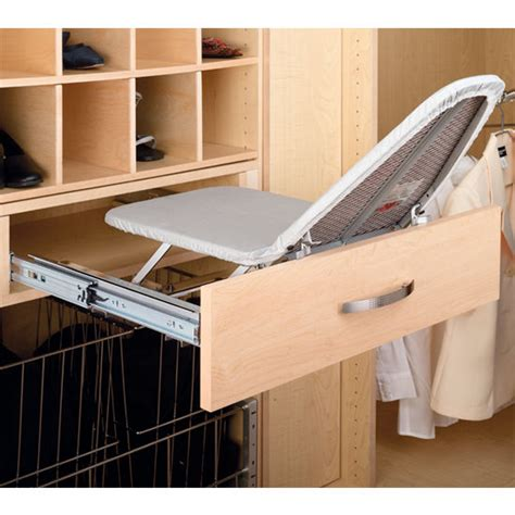 Drawer Ironing Board by Rev A Shelf Closet Vanity And Kitchen Drawer Fold Out