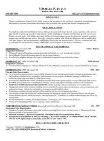 Outside Sales Resume Exle by Outside Sales Resume Template Learnhowtoloseweight Net