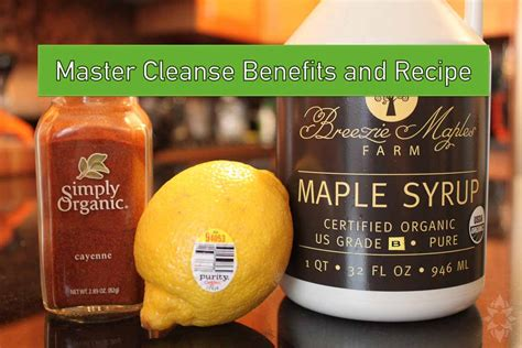 Master Cleanse Detox Recipe by Master Cleanse Benefits And Recipe Tiger Muay Thai Mma
