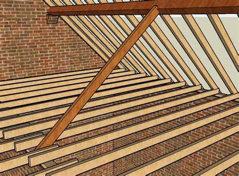 Hip Roof Structure Roof Construction Diywiki