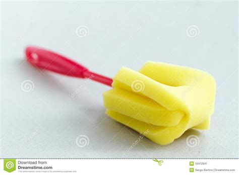 Handle Cleaning Sponge cleaning sponge with handle stock image image 16412841