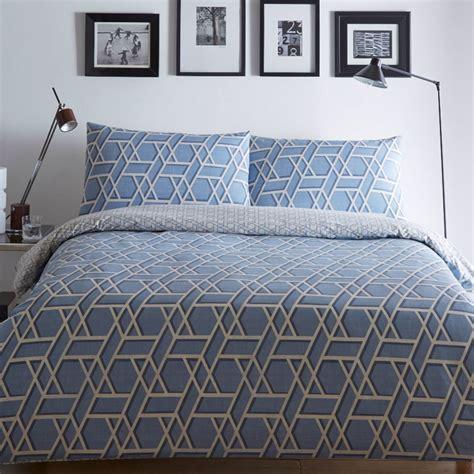 Bedding Set Geometric quilt duvet cover pillowcase bedding bed set modern