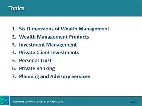 Executive Mba In Asset And Wealth Management by Wealth Management Overview