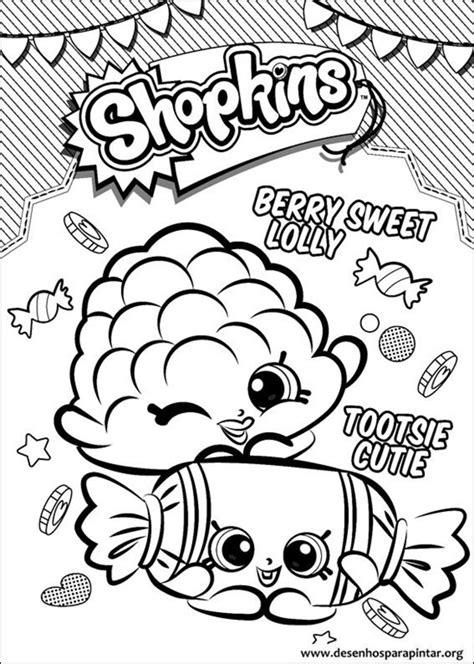 shopkins coloring page pdf shopkins desenhos para colorir imprimir e pintar