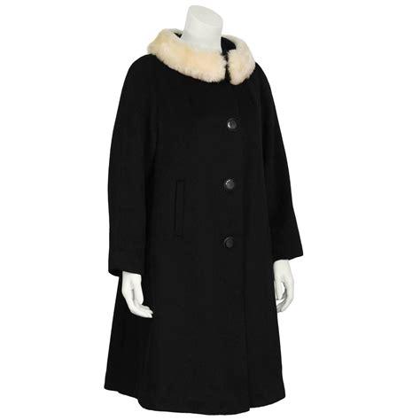 swing coats for sale 1960 s lilli ann black wool swing coat for sale at 1stdibs