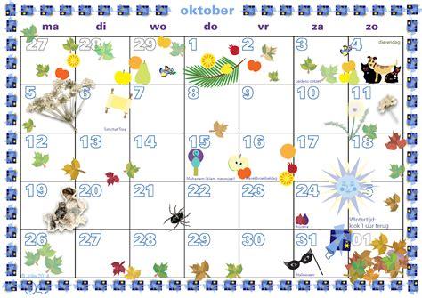 Oktober Kalender 2015 S Weblog
