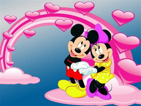 mickey  minnie mouse photo  love desktop hd wallpaper  pc tablet  mobile