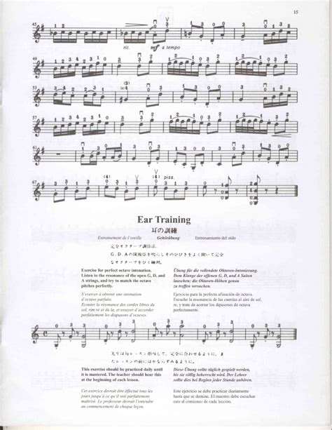 Suzuki Violin Book 2 Gavotte Suzuki Violin Method Kнига 2