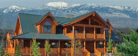 Small Cabin Kits Idaho Here It Is At Last Lodge Logs Log Homes Log Cabins