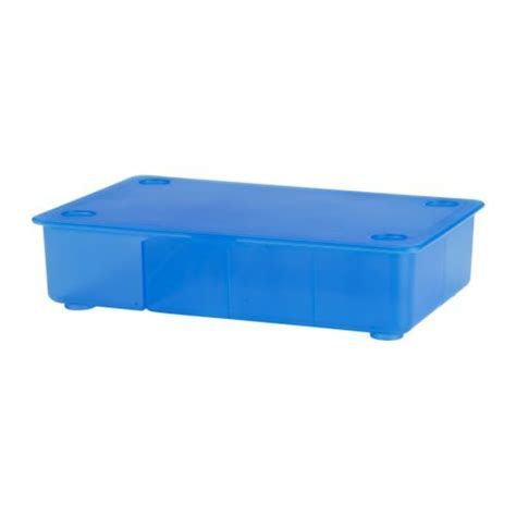 large bed storage containers glis box with lid blue