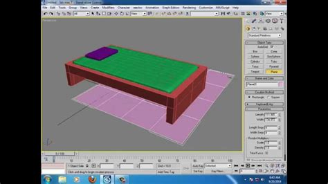 tutorial membuat tempat tidur di 3ds max tutorial membuat kasur dan selimut di 3ds max youtube