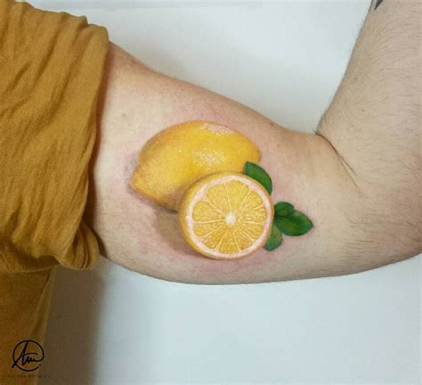 when life gives you lemons realism bicep piece best