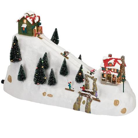 animated ski lift decoration buy special kitchen housewares mr winter ski hill on sale as of 11 14