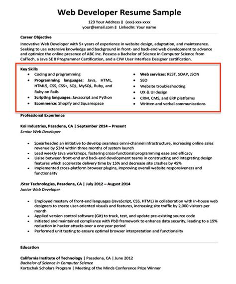 How To List Software Skills On Resume by 20 Skills For Resumes Exles Included Resume Companion