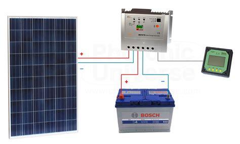 250w solar panel kit for charging 12v 24v battery in