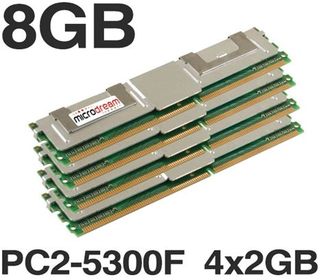 Server Memory Ddr2 Ecc Pc2 5300f 1 Gb 1 8gb 4x2gb ddr2 pc2 5300f 667mhz ecc fully buffered server memory ram hp dell