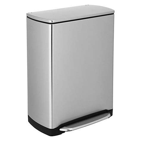 design guidelines for rectangular steel bins buy simplehuman wide step rectangular recycling bin 46l
