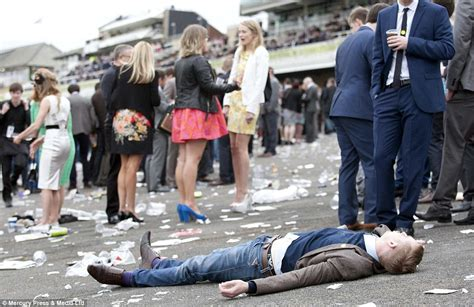 Ladies Day At Aintree Sees A Day Of Revelry Take Its Toll