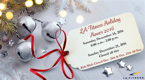 la fitness holiday hours archives the official blog of