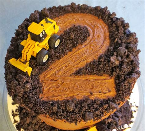 Digger Cake Template by Cakespiration 12 Construction Cakes They Ll Really Dig