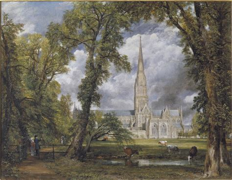 by john constable salisbury cathedral all weather constable artseer