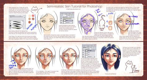 paint tool sai realistic skin tutorial semi realistic skin tutorial by chiakineko on deviantart
