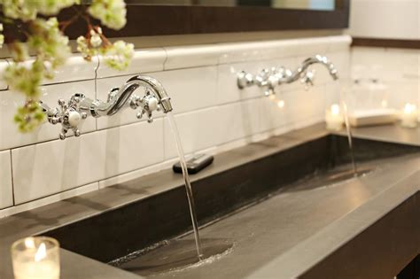 trough sinks for trough sink appealing trough sink for your bathroom design