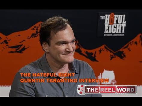 quentin tarantino jan interview quentin tarantino interview the hateful eight youtube