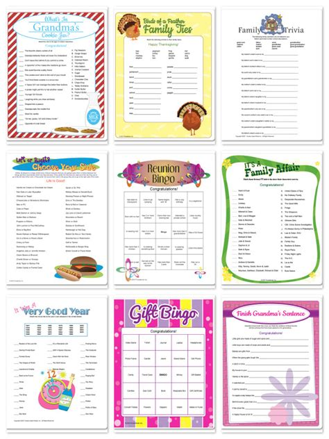 free printable family reunion worksheets free printable family reunion planner
