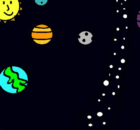 imagenes del universo faciles de dibujar 5 dibujos del universo imagui