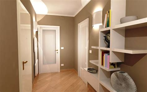 porte color tortora corridoio quali finiture per pavimento e porte cose di