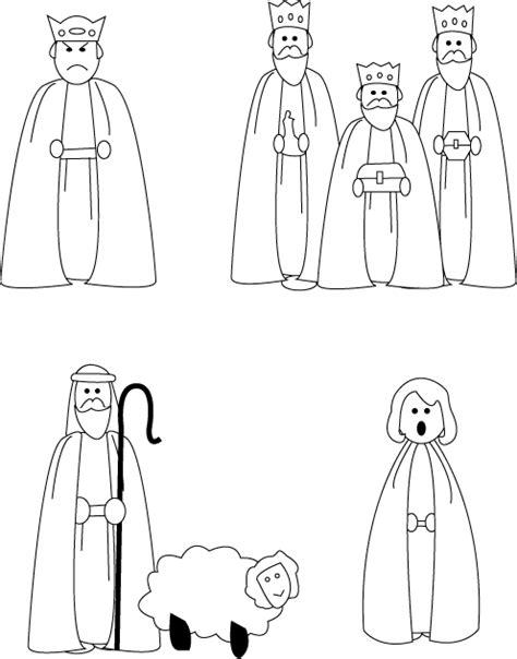nativity cutouts smith s lds ideas nativity cutouts